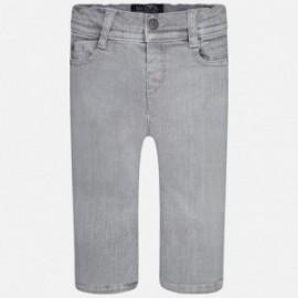 Mayoral 2567-87 kalhoty džíny barva šedá