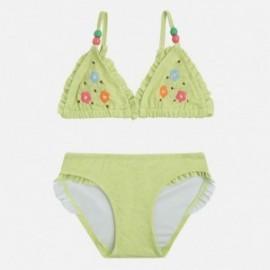 Mayoral 3727-31 Bikini vyšívané květiny barva Lime