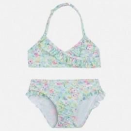 Mayoral 3731-53 tiskové bikini barva kiwi