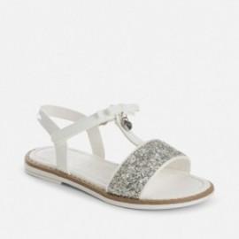 Mayoral 43781-46 sandály bílá barva
