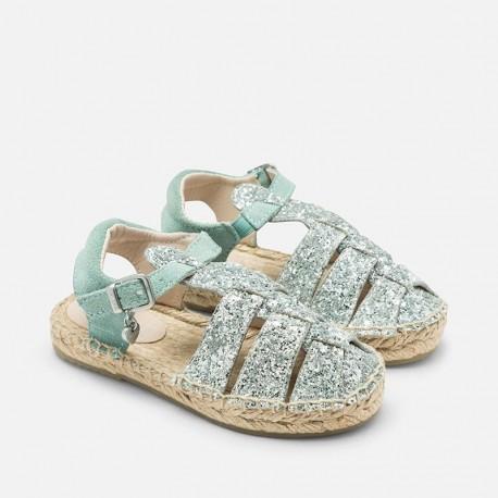Mayoral 43799-80 plátěné boty sandály barva modrá