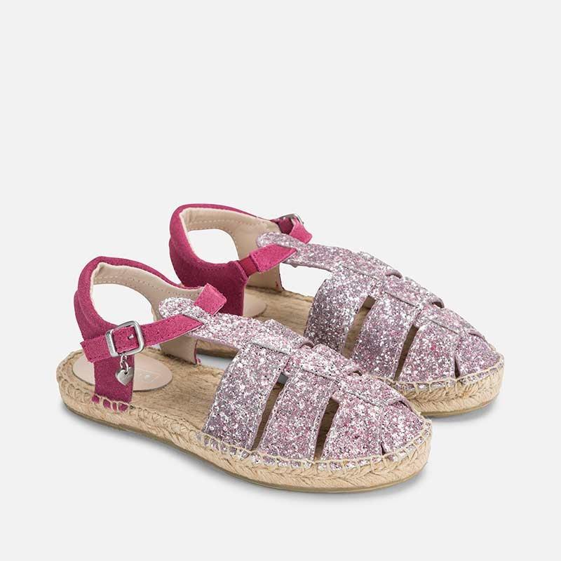 Mayoral 43799-81 plátěné boty sandály barva fuchsiová