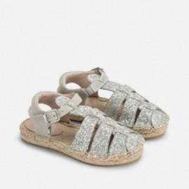 Mayoral 43799-82 plátěné boty sandály barva led