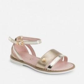 Mayoral 45777-73 sandály svit zlatá barva
