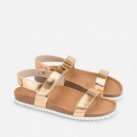 Mayoral 45793-73 sandály zlaté barvy