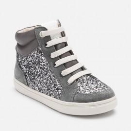 Mayoral 46747-29 boty sportovní třpyt barva grafit