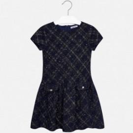 Mayoral 7925-20 šaty granátové barvy