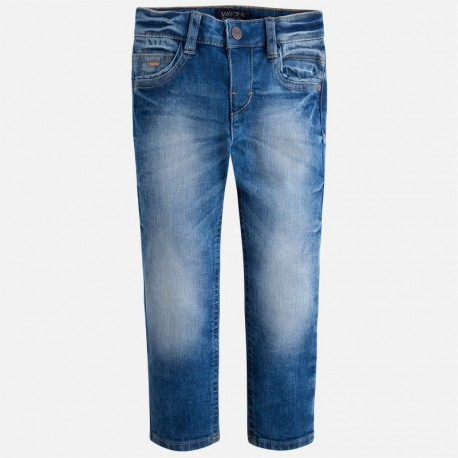 Mayoral 4531-55 kalhoty džíny Slim Fit Základní barva 3382472f12