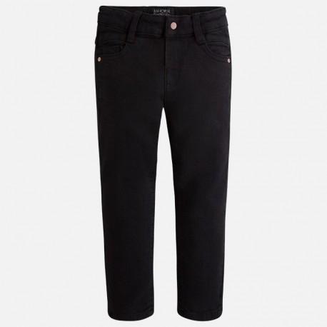 Mayoral 4521-63 kalhoty super tenký barva černá