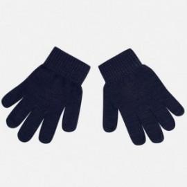 Mayoral 10255-50 rukavice hladký barva granát