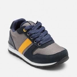 Mayoral 46805-31 boty granátové barvy