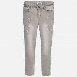 Mayoral 4547-56 kalhoty dlouho gwiadki barva světlý šedá