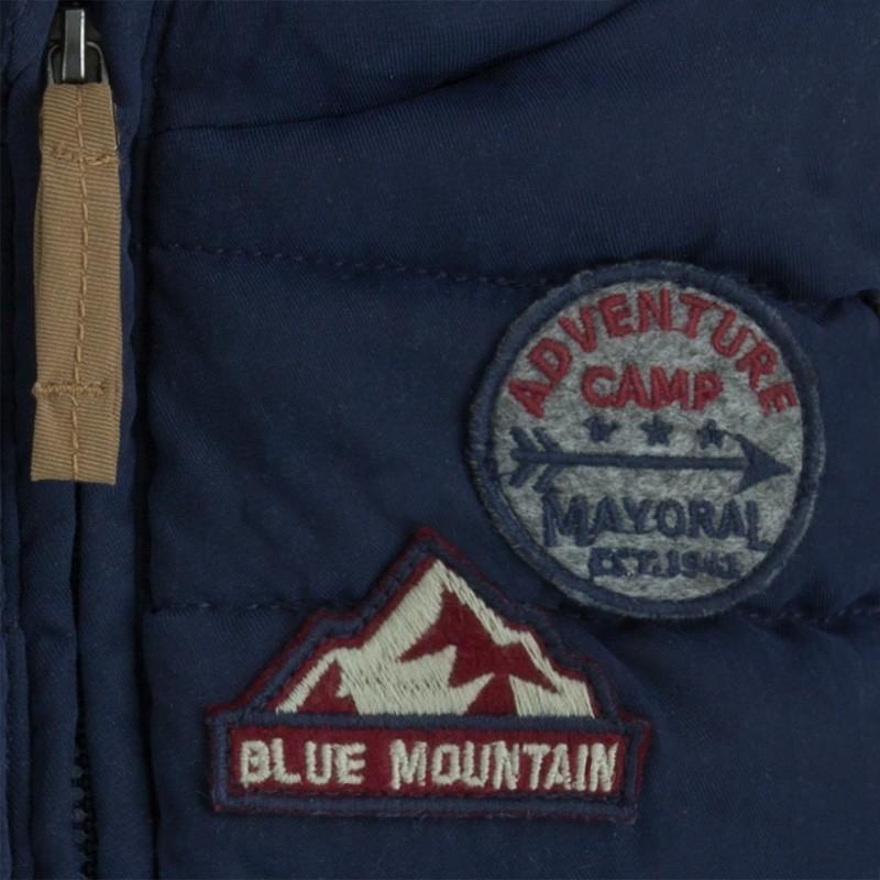 Mayoral 4433-7 vesta prošívaný představivost barva modrý 12f4f9ebf0