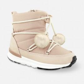 Mayoral 44765-79 boty sněhule barva špinavý růžový