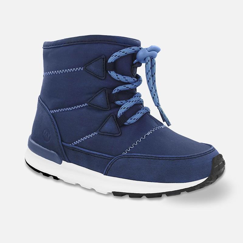 Mayoral 44809-41 boty sněhule barva granát