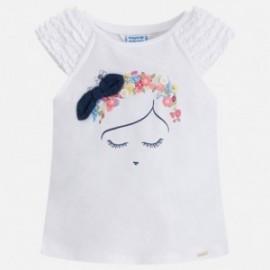 Mayoral 3046-76 Dívčí tričko barva bílá