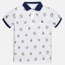 Mayoral 6128-11 tričko chlapci pólo barva bílá