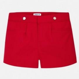 Mayoral 6204-17 šortky dívčí barva červená