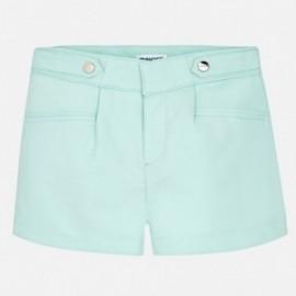 Mayoral 6204-20 Dívčí šortky barva modrý