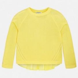 Mayoral 6306-31 Dívčí svetr spojování barva žlutý