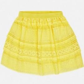 Mayoral 6910-79 Dívčí sukně barva žlutý