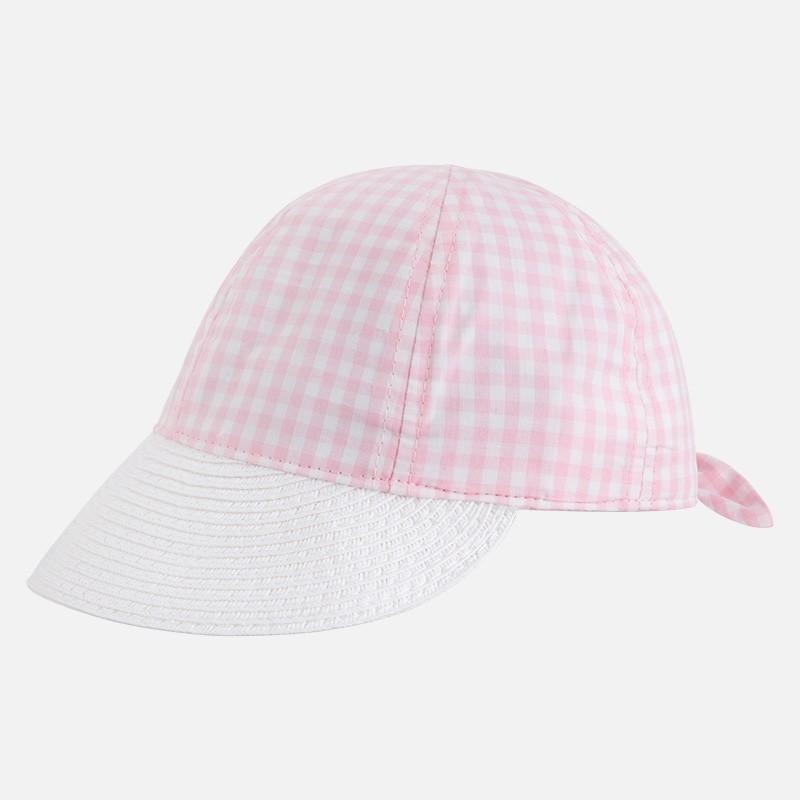 Mayoral 10404-46 Dívčí klobouk barva růžový 97928e795f