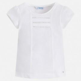 Mayoral 174-61 tričko krátký rukáv basic barva bílá