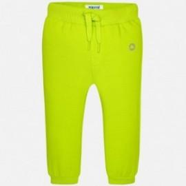 Mayoral 711-10 dlouho kalhoty basic barva brokolice