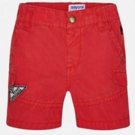 Mayoral 1294-83 Bermudy chlapci barva červená