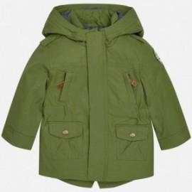 Mayoral 1472-27 Parka bunda pro chlapce zelená barva