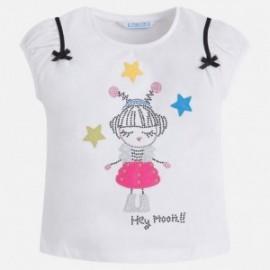Mayoral 3020-33 Dívčí tričko barva černá