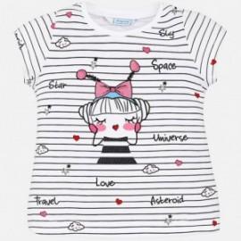 Mayoral 3024-82 Dívčí tričko barva černá