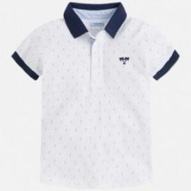 Mayoral 3126-44 tričko pólo barva bílá