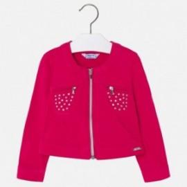 Mayoral 3414-49 Dívčí bunda červená barva