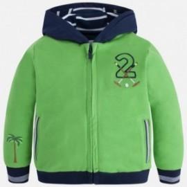 Mayoral 3464-63 halenka chlapci s kapucí barva zelená
