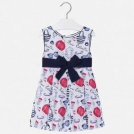 Mayoral 3950-45 Dívčí šaty barva granát