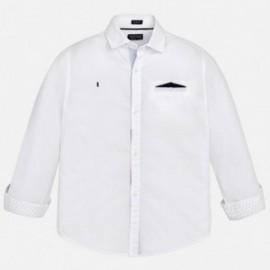 Mayoral 6158-67 košile chlapci barva bílá