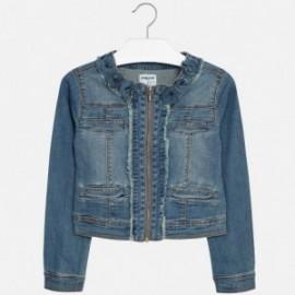 Mayoral 6418-45 Dívčí bunda barva tmavý modrý