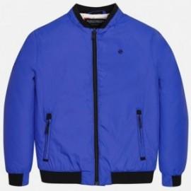 chlapčenská bunda barva modrý