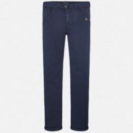 Mayoral 6524-21 Dlouhé kalhoty chlapců s úsekem Barva granátu