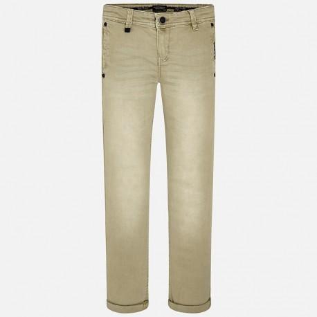 Mayoral 6528-91 kalhoty chlapci barva kmín