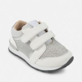 Mayoral 41834-90 Dívčí boty kovový Stříbrná barva