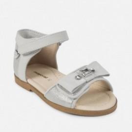 Mayoral 41864-75 sandály dívčí dekorativní barva stříbro