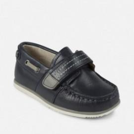 Mayoral 41878-64 Chlapci boty mokasíny kůže Barva granátu