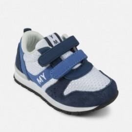 Mayoral 41894-90 Chlapci boty na suchý zip oceánové barvy
