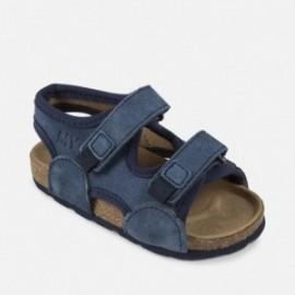 Mayoral 41908-28 Chlapčenské sandály na podpatcích Barva oceánu
