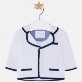 Mayoral 1406-48 bunda chlapci tricotová barva Bílá