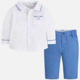 Mayoral 1520-63 Sada chlapčenských košil a kalhot barva modrý