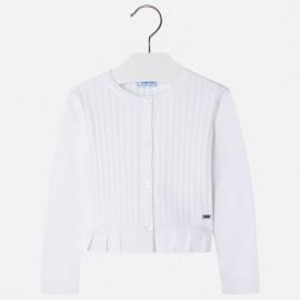 Mayoral 3302-74 Dívčí svetr barva bílá