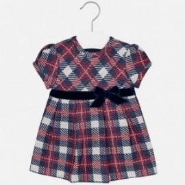 Mayoral 2943-15 šaty pro dívku gril Barva granátu